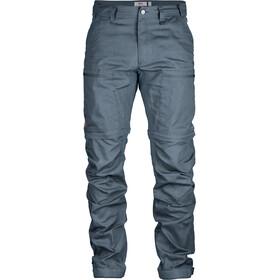 Fjällräven Abisko Lite Trekking Pantalones Zip-Off Hombre, dusk